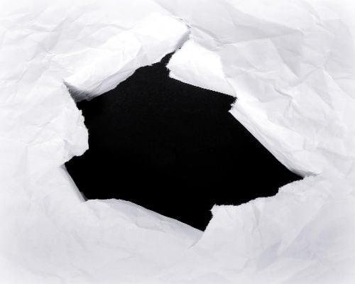Hoe voorkom je 'het zwarte gat'?